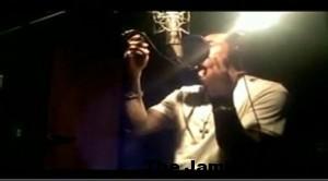 Lloyd Banks and Gucci Mane at the Studio