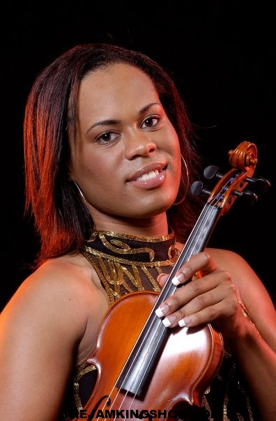 Tona Brown Vocalist And Violinist, Is Scheduling  lessons!