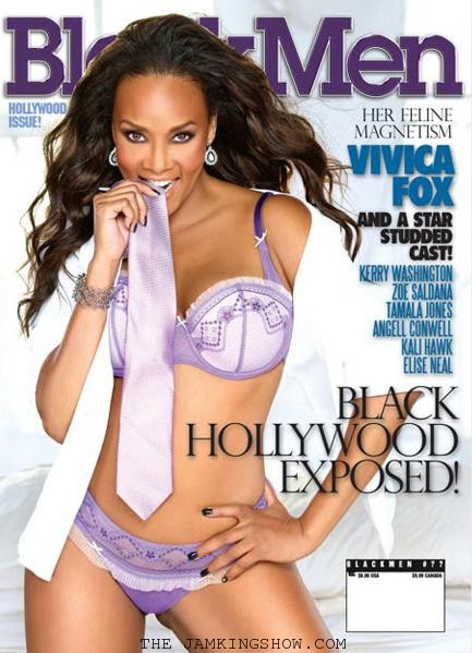 Vivica Foxx BlackMens Magazine PHOTOS
