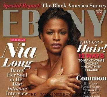 Nia Long, Mother-To-Be, Poses Nude For The November Cover Of Ebony Magazine