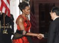 First Lady Michelle 2011 state dinner (2)