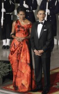 First Lady Michelle 2011 state dinner (6)