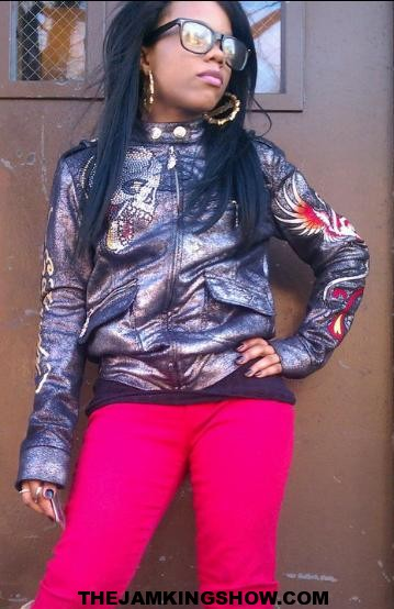 TJKS CELEB SPOTLIGHT (EXCLUSIVE) WITH UP AND COMING NEW FEMALE RAPPER/MODEL (DIAMOND a.k.a PUNKIE LEE BREWSTERR)