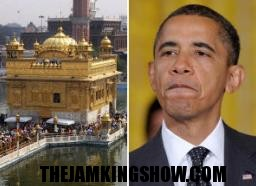 A Dam Shame! Obama To Skip Golden Temple Appearance To Avoid Appearing Muslim?