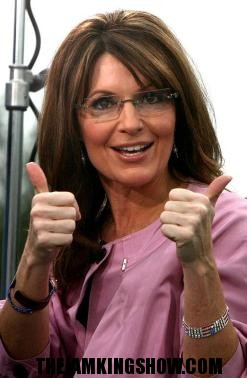 WTF! Sarah Palin arrives in Haiti with mercy mission