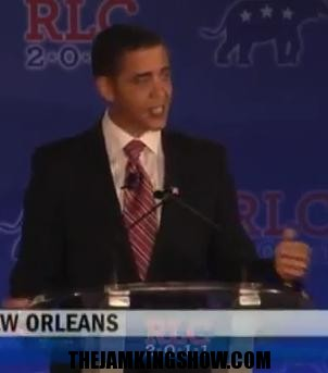 Sell Out:Reggie Brown Obama Impersonator Makes Race Jokes, Gets Yanked Off Stage At GOP Conference For Mocking GOP