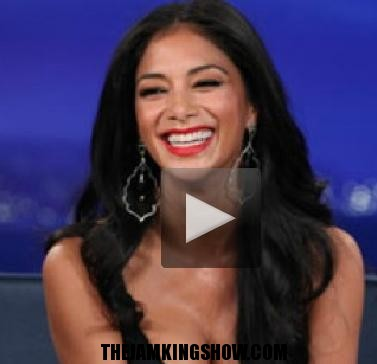 Conan O'Brien Stares At Nicole Scherzinger's Cleavage