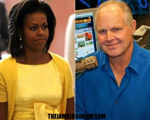 HATERS: Rush Limbaugh mocked Michelle Obama's trip to Target