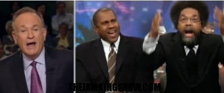 HATERS KEEP ON HATING:O'Reilly Gets Into Huge Argument With Tavis Smiley, Cornel West