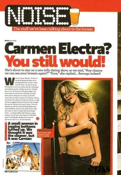 carmen electra nude pussy