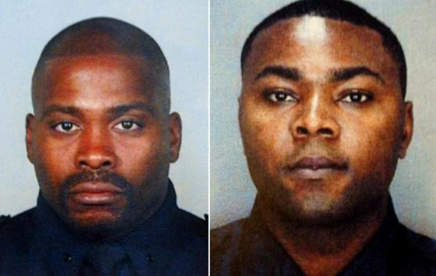 Detective Rodney Andrews (l.) and Detective James Nemorin (r.) were murdered while conducting undercover gun buys.