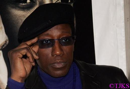 Wesley Snipes released from federal prison....