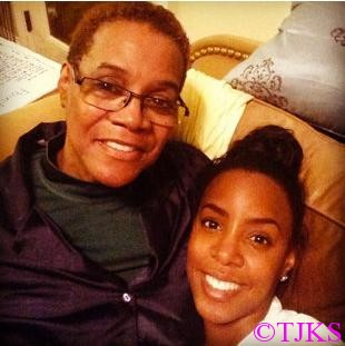 Kelly Rowland and Doris Rowland Garrison (Facebook)